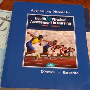 D'Amico & Barbito Other - X2 Health& Physical Assessment Books